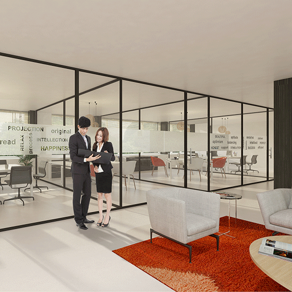 Artist impression office